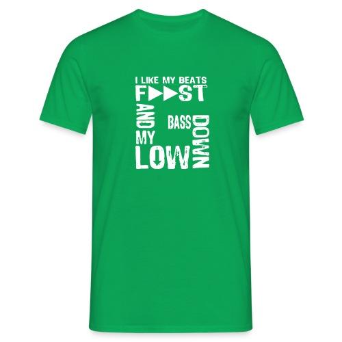bass down low gfm - Men's T-Shirt