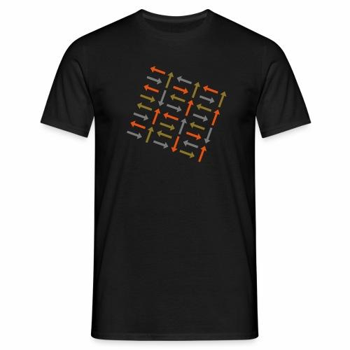 Pfeile bunt - Männer T-Shirt