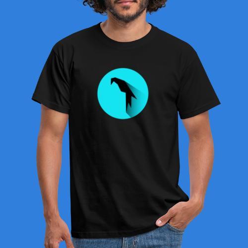 Parrot Logo + Prompt - Men's T-Shirt