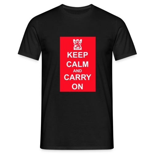 keep calm and carry on tornilogo copy - Miesten t-paita