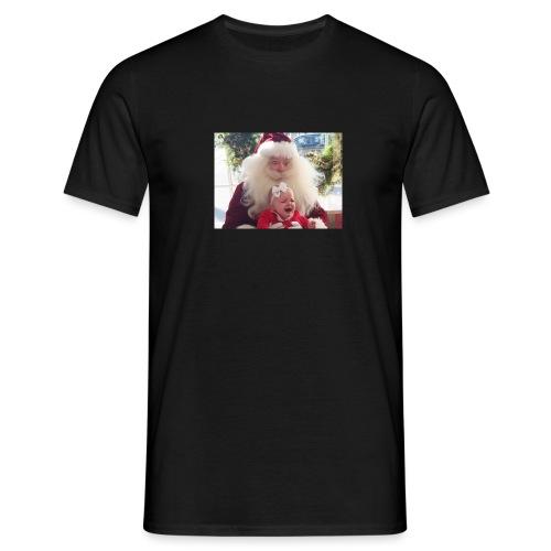 Santa claus raping kids - T-skjorte for menn