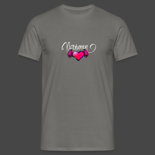 Logo and name - Men's T-Shirt