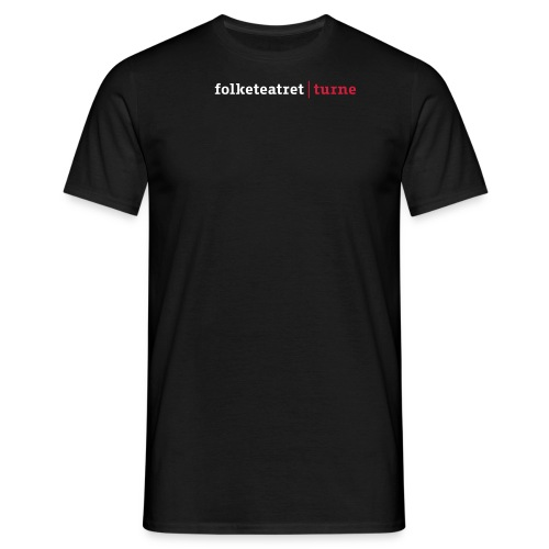 folketeatret turne ny 2011 dk - Herre-T-shirt