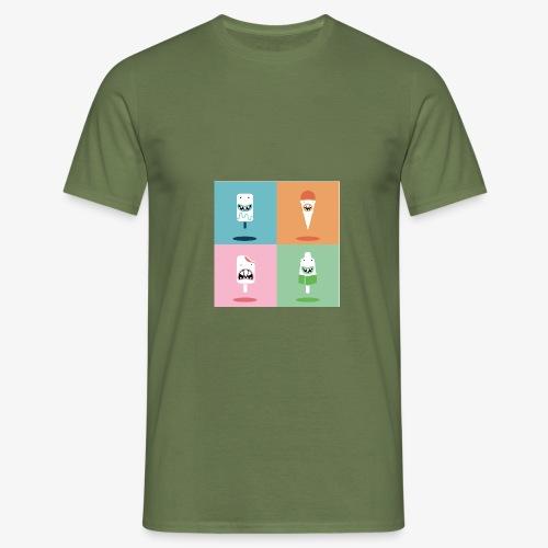 Ijsjes - Mannen T-shirt