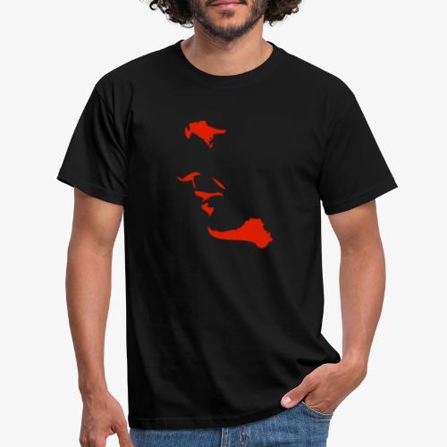 palme red - T-shirt herr
