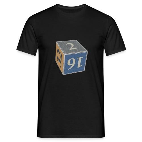 Backgammon Doubling Cube - Mannen T-shirt