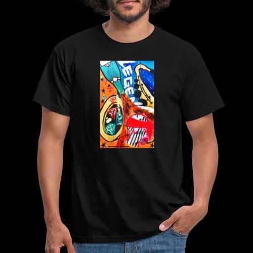 Altosax - Mannen T-shirt