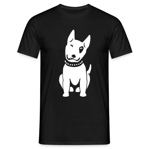 Bullterrier comic - Männer T-Shirt