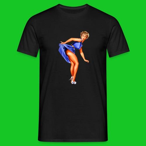 pin up girl 2 - Mannen T-shirt