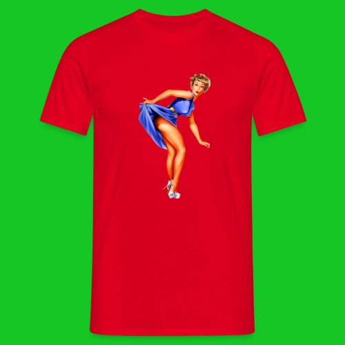 pin up girl 2 - Mannen T-shirt