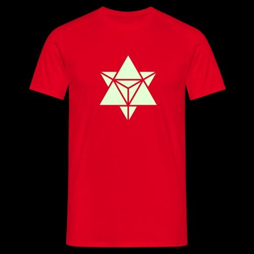 star tetrahedron - Men's T-Shirt