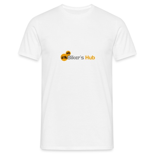 Biker's Hub Logo - Men's T-Shirt