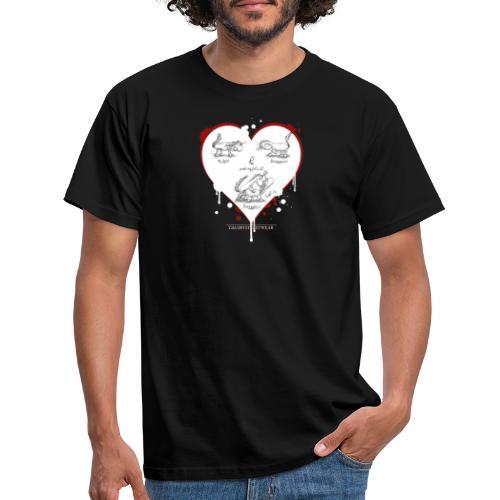 Hornyporn - Männer T-Shirt