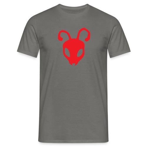 ANTBOY LOGO rød u tekst - Herre-T-shirt