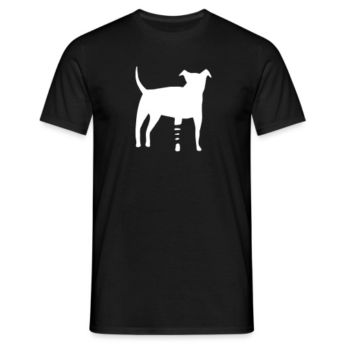 Canidius Dog White - Männer T-Shirt