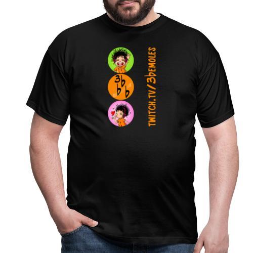 Camiseta (Be circulos) - Camiseta hombre