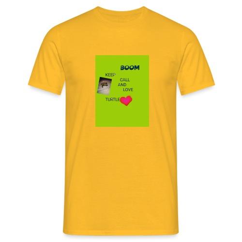 Keep call and love turtle - Miesten t-paita