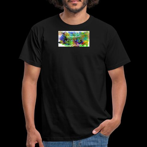Splash logo 033 - T-shirt herr