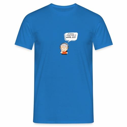 Le Vieux Bourré - T-shirt Homme