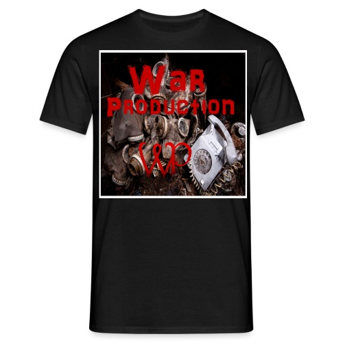 Warproduction Logo - Männer T-Shirt