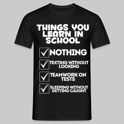 schoolW png - Men's T-Shirt