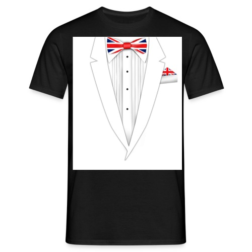 British Bow Tie T-shirt - Men's T-Shirt