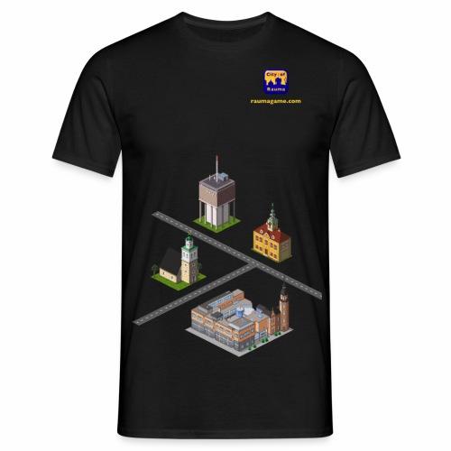 Raumagame mix - Miesten t-paita