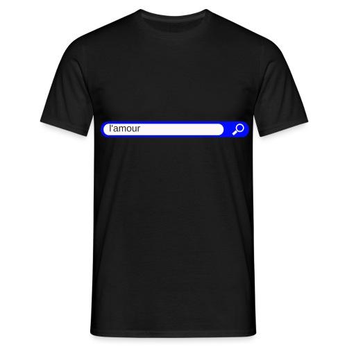 l'amour - T-shirt Homme