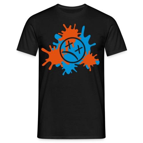 Rot-Orange - Männer T-Shirt