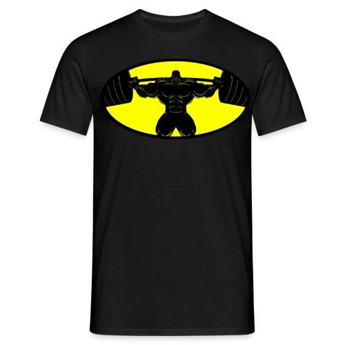 batmanpump front - Männer T-Shirt