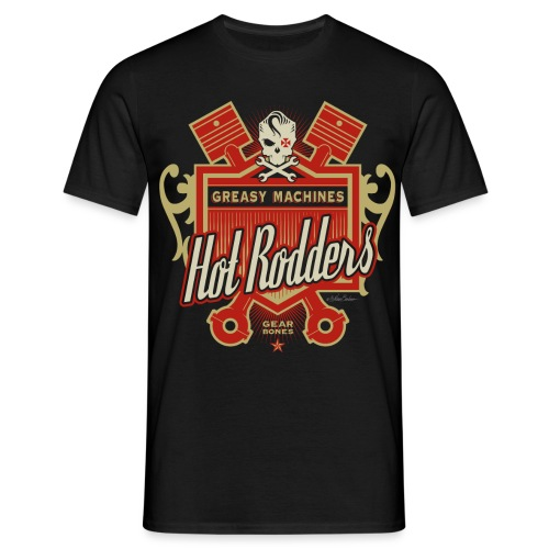 hot rodders 5 ol2 - Camiseta hombre