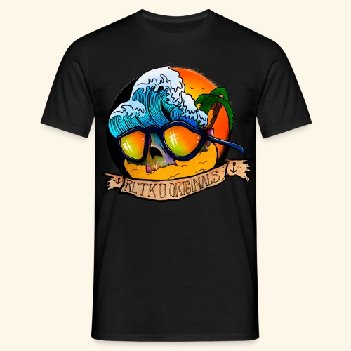 retku beach - Miesten t-paita