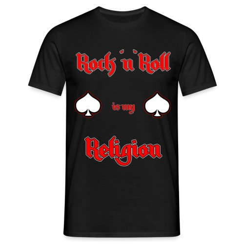 rock - Männer T-Shirt