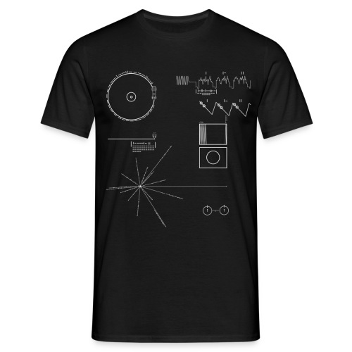 Carl Sagan Voyager Golden - Men's T-Shirt