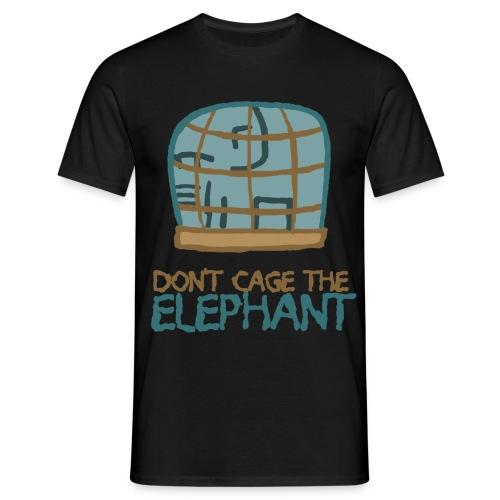 DontCageTheElephant02 png - Männer T-Shirt