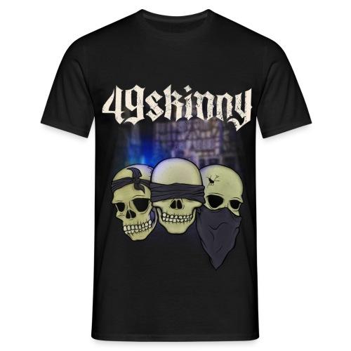 49 Skinny - Taubstumme - Männer T-Shirt