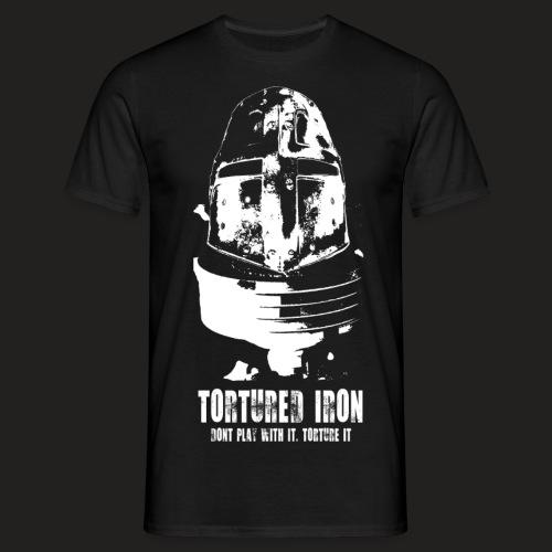 knight white png - Men's T-Shirt