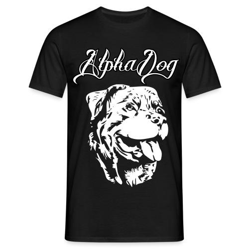 Rottweiler Kopf - Männer T-Shirt