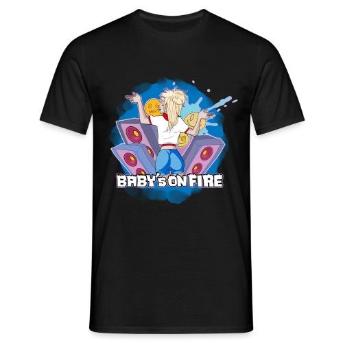 Baby's on fire - Camiseta hombre