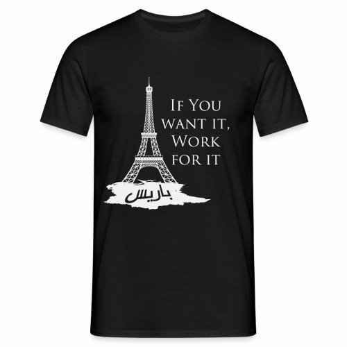 Paris dream work - T-shirt Homme