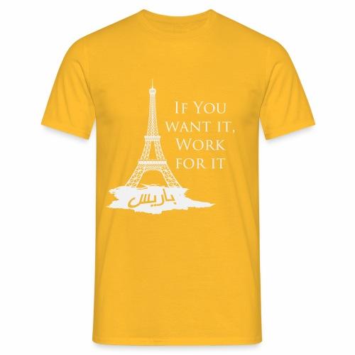Paris dream work - T-shirt Homme