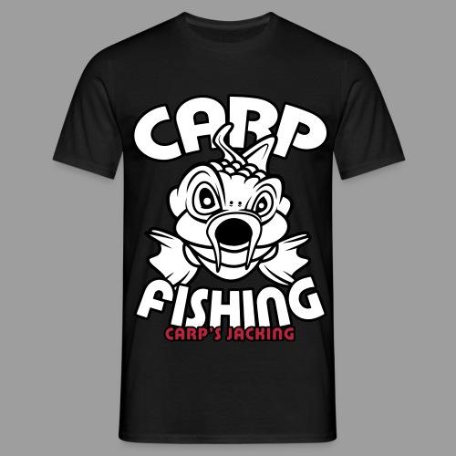 carp fishing 3color carpsjacking - T-shirt Homme