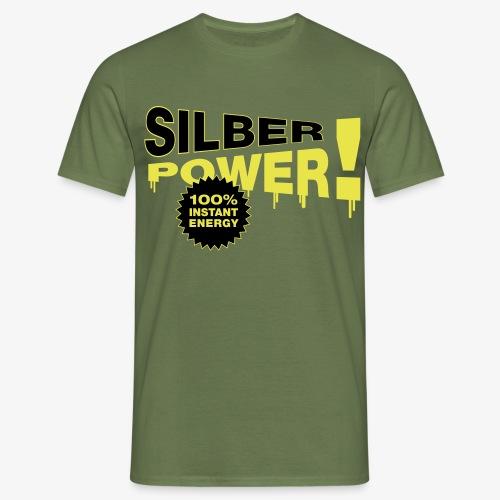 SilberPower! - Herre-T-shirt