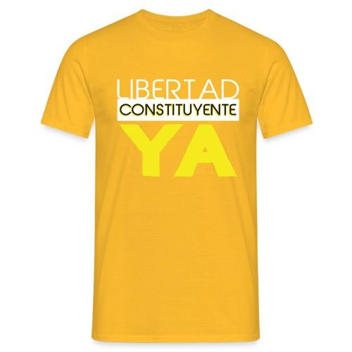 Libertad Consituyente ¡YA! - Camiseta hombre
