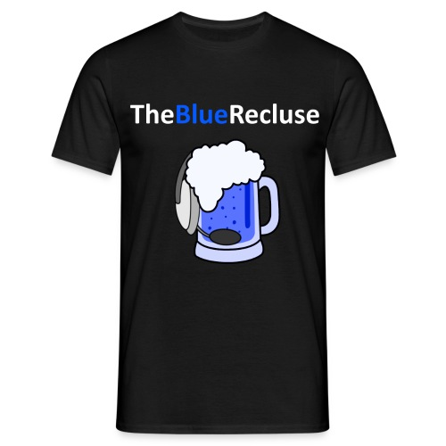The Blue Recluse White - Men's T-Shirt