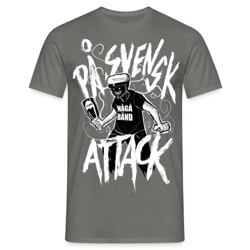 På Svenska Tack - Men's T-Shirt