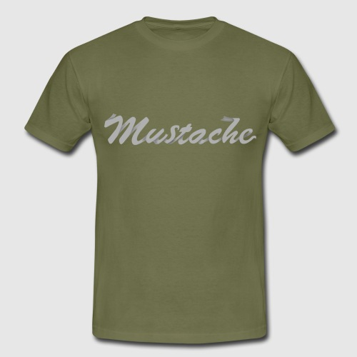 White Lettering - Men's T-Shirt