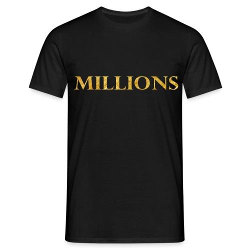 mil png - Men's T-Shirt