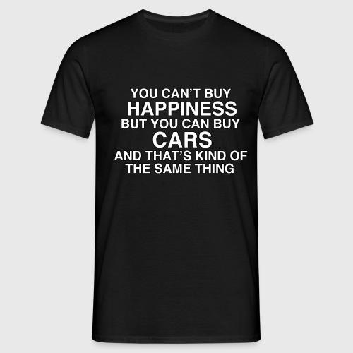 hapiness - Men's T-Shirt