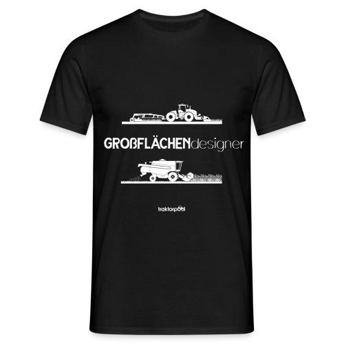 Großflächendesigner - Männer T-Shirt